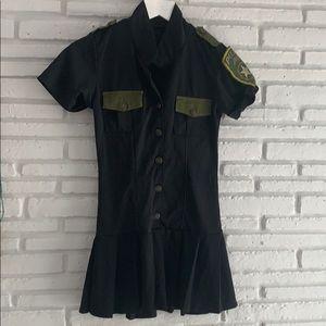Halloween Women's Police Dress Costume